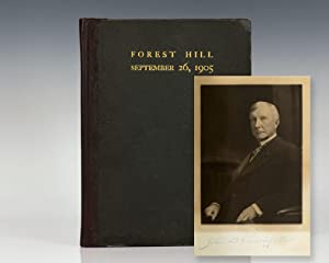A Visit to Mr. John D. Rockefeller by Neighbors & Friends at Forest Hill.
