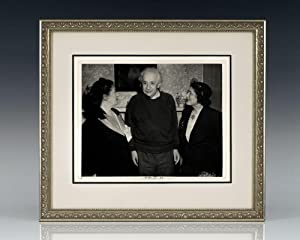 Albert Einstein Signed Photograph.: Einstein, Albert