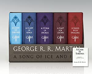 Game of Thrones; A Clash of Kings; A Storm of Swords; A Feast for Crows; A Dance with Dragons: Le...