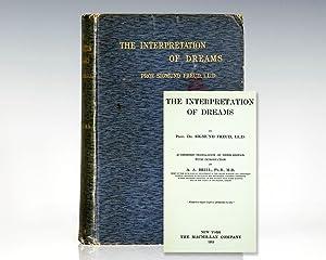 The Interpretation of Dreams.: Freud, Sigmund