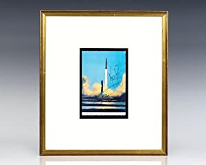 Neil Armstrong Signed Apollo 11 Liftoff.: Armstrong, Neil