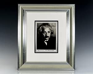 Albert Einstein Signed Martin Vos Photograph.: Einstein, Albert