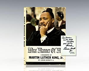 What Manner of Man: A Biography Of: King Jr., Martin