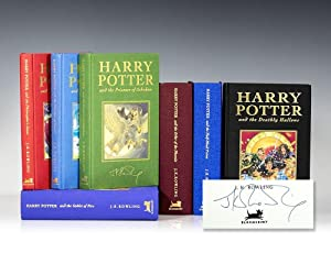 Harry Potter Series Complete Deluxe Set. Harry Potter and the Philosopher's Stone, Chamber of Sec...