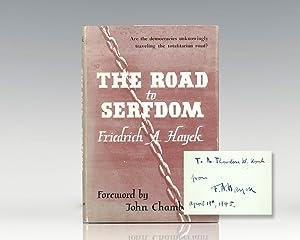 The Road to Serfdom.: Hayek, Friedrich August