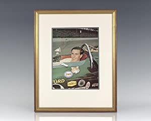 Jim Clark Signed Photograph.