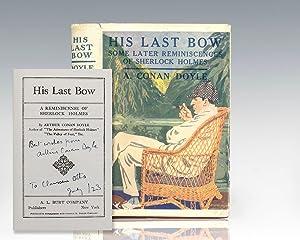 His Last Bow: A Reminiscence of Sherlock: Doyle, Arthur Conan