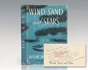 Wind, Sand and Stars.: Saint-Exupery, Antoine de