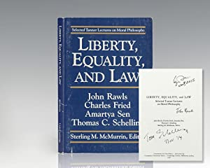 Liberty, Equality, and Law: Selected Tanner Lectures on Moral Philosophy.