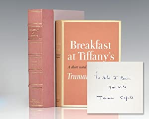 Breakfast At Tiffany's. A Short Novel and: Capote, Truman