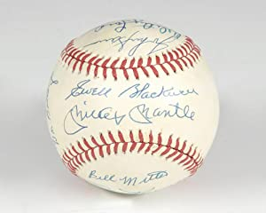New York Yankees Signed 1953 Baseball.