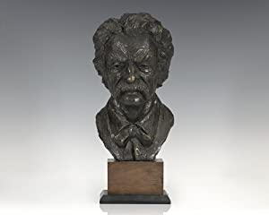 Sculptural Bust of Samuel Clemens [Mark Twain].