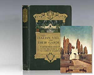 Italian Villas and Their Gardens.: Wharton, Edith; Illustrated