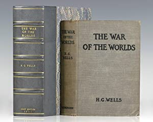 Wells Illustrated Goble Deluxe New Cloth Bound Ed The War of the Worlds by H.G