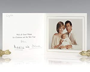 Princess Diana and Prince Charles Signed Christmas: Charles, Prince of
