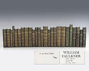 William Faulkner Collection [25 Uniformly Bound Volumes: Faulkner, William