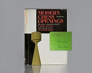 Modern Chess Openings.: Evans, Larry; Edited
