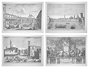 Eighteenth Century Views of Florence, Portfolio of: Zocchi, Giuseppe