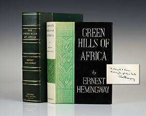 Green Hills of Africa.: Hemingway, Ernest