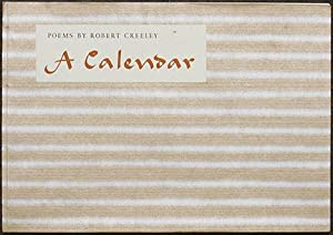 A Calendar. Robert Creeley: Twelve Poems.: Creeley (Robert)