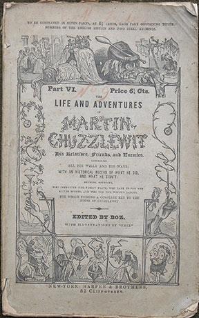 Life and Adventures of Martin Chuzzlewit. His: Dickens (Charles)