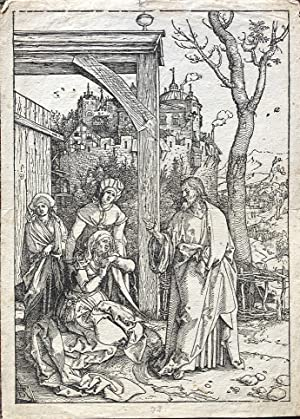 Christ Taking Leave From His Mother. (Christi: Durer (Albrecht)