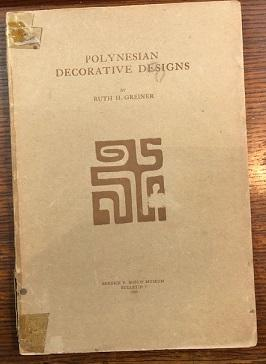 Polynesian Decorative Designs.