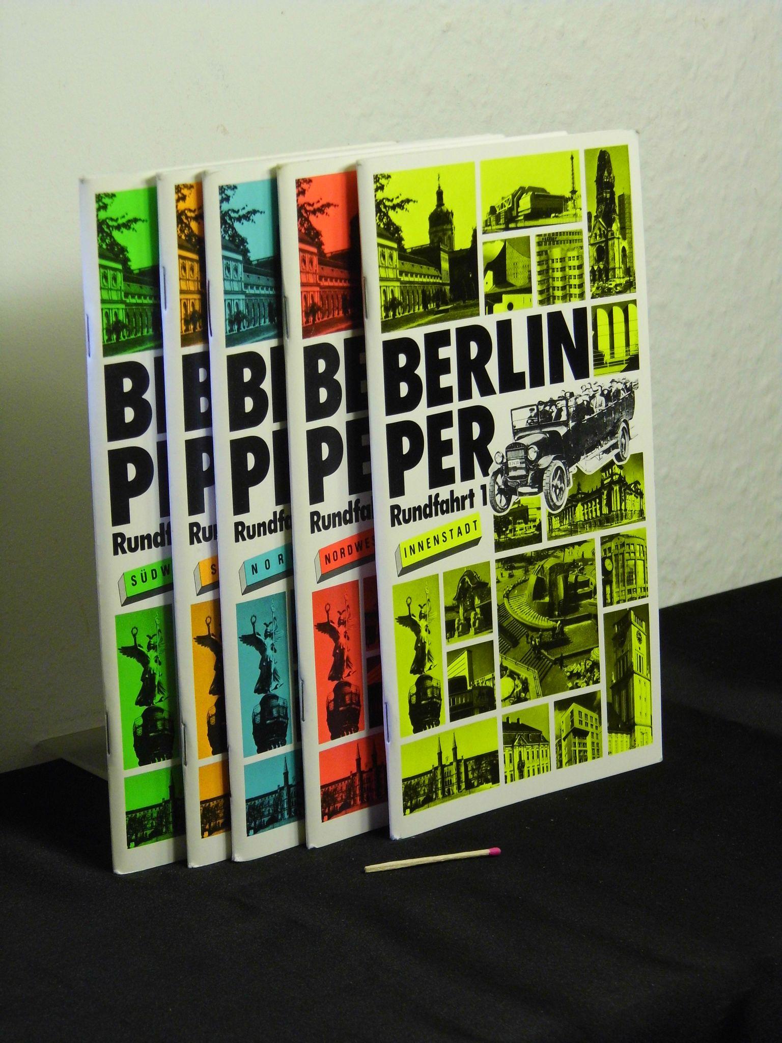 Berlin per Bus, Rundfahrt 1-5 + Bauten: Senator für Bau-