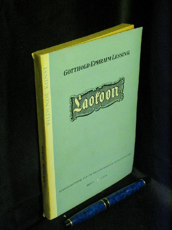 Laokoon - aus der Reihe: Studienmaterial für: Lessing, Gotthold Ephraim