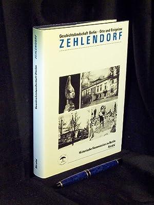 Zehlendorf - Publikation der Historischen Kommission zu: Engel, Helmut sowie