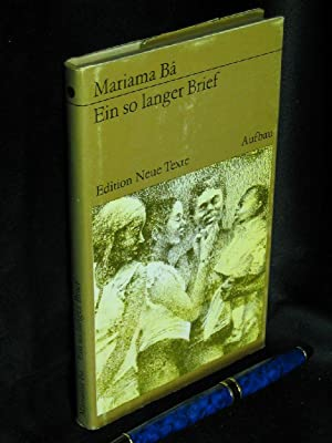 Ein so langer Brief - Originaltitel: Une: Ba, Mariama -