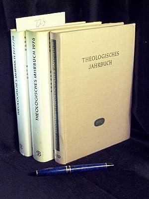 Theologisches Jahrbuch 1970 + 1976 + 1977/78: Ernst, Wilhelm und