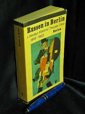 russen in berlin von fritz mierau abebooks. Black Bedroom Furniture Sets. Home Design Ideas
