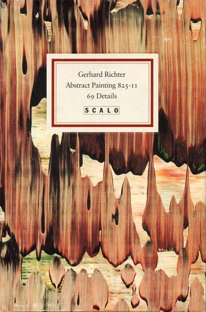 Inselbuchnr. 1166 Abstraktes Bild 825-II.: Richter, Gerhard: