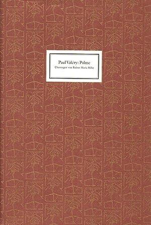 Paul Valéry. Palme.: Edition Tiessen: