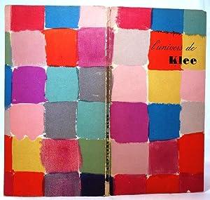 L'Univers de Klee. Mit einem einleitendem Poem: Klee, Paul: