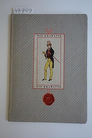 Plaudereien über die Krawatte. Gestaltung und Essays: Eelking, Herrmann-Marten Freiherr