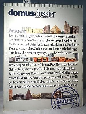 Domus Dossier: Berlino / Berlin - Stadtmitte