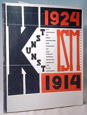 Die Kunstismen 1914 - 1924. Les ismes: Lissitzky, El und