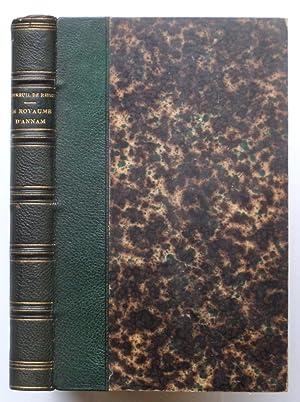 Le royaume d¿Annam et les Annamites, journal: J. L. DUTREUIL