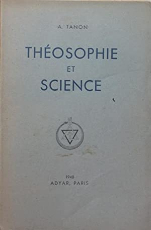 Thosophie Et Science A TANON