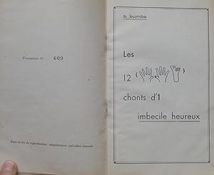 Les 12 Chants d¿1 Imbécile Heureux: B. BUMBO (Boby LAPOINTE)