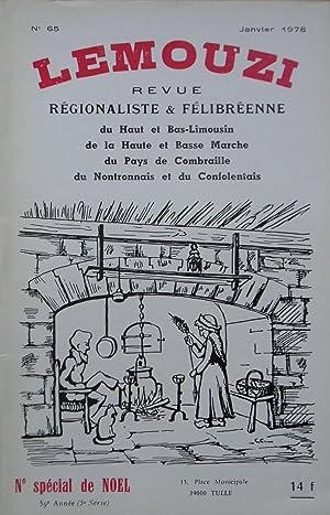 LEMOUZI Revue régionaliste et Félibréenne. N° 65: Collectif