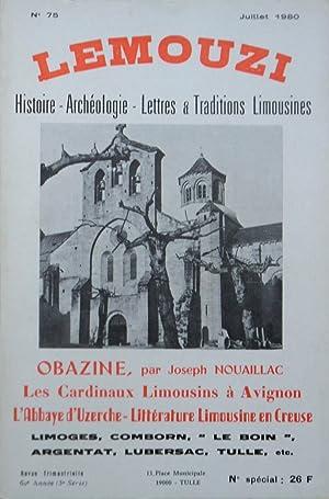 LEMOUZI Histoire - Archéologie - Lettres &: Collectif