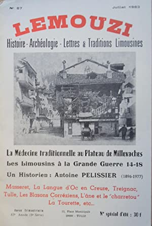 LEMOUZI N° 87 Juillet 1983 La médecine: Collectif
