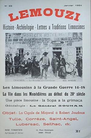 LEMOUZI N° 89 Janvier 1984 - Les: Collectif