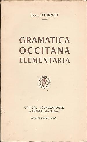 Gramatica occitana elementaria: Jean JOURNOT