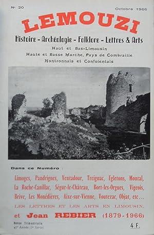 LEMOUZI Histoire - Archéologie - Folklore -: Collectif