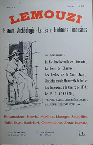 LEMOUZI Histoire ¿ Archéologie ¿ Lettres et: Collectif