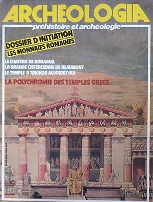 ARCHEOLOGIA Préhistoire et Archéologie N° 169 Août: Collectif